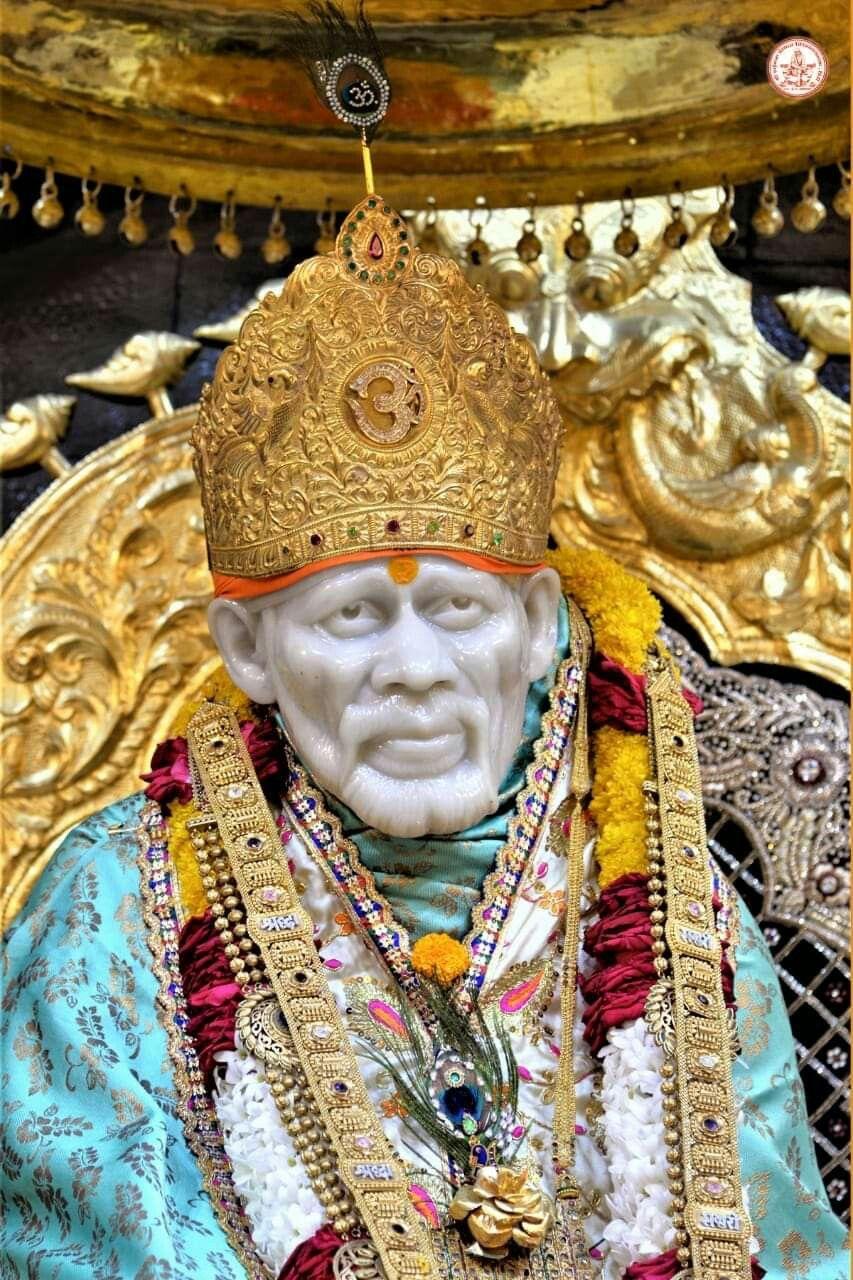 Pin By Kaivalya Desai On Sai Baba 4k Wallpapers For Pc Sai Baba Wallpapers Sai Baba Photos