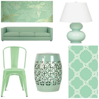 Freshen Up Your Decor With A Hint Of Mint Mint Green Bedroom Living Room Green Green Bedroom Decor