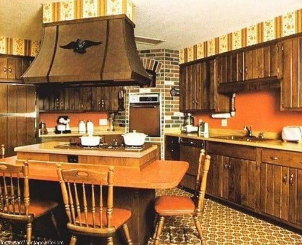 20 Kitchens from the '70s That Are So Bad They're Good
