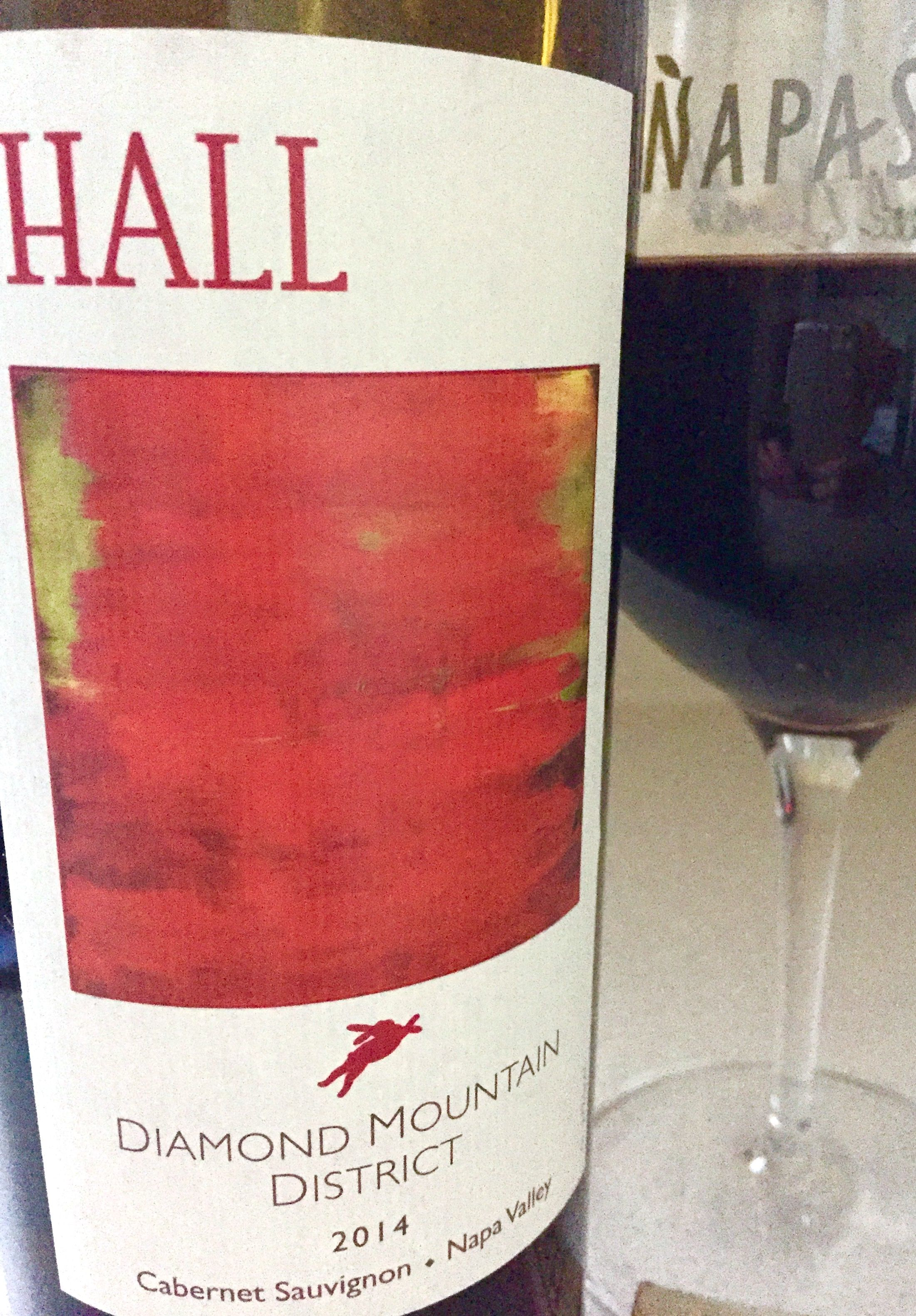 Hall Diamond Mountain District 2014 Cabernet Sauvignon Napa Valley Rose Wine Bottle Cabernet Sauvignon Sauvignon