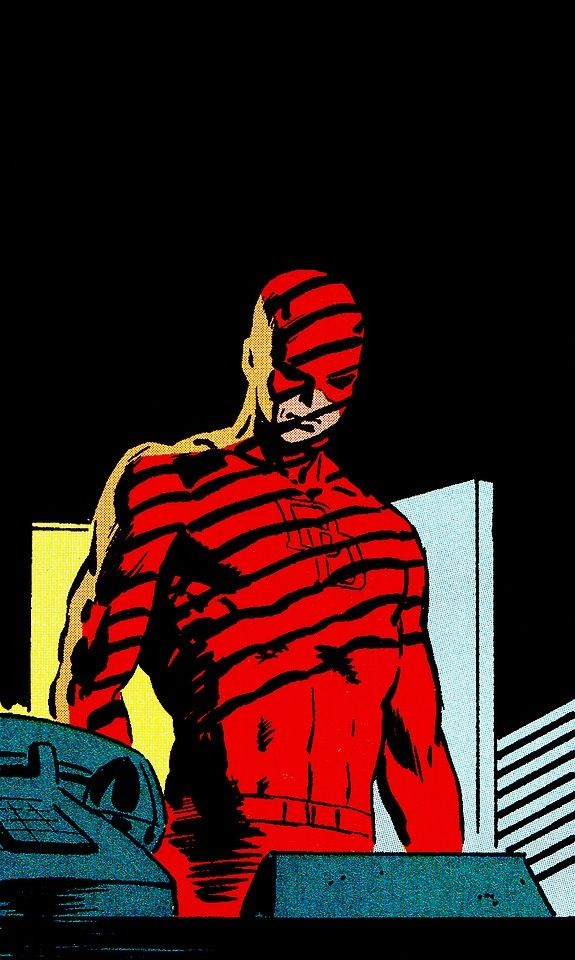 Daredevil #226 by David Mazzucchelli