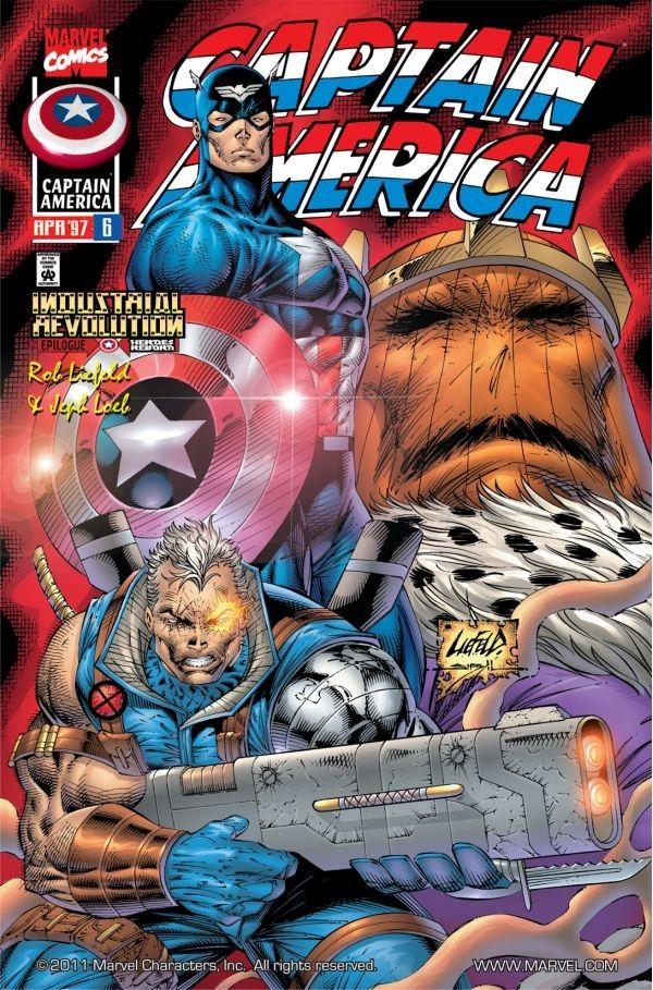 Captain America 1996 series # 13 near mint comic book