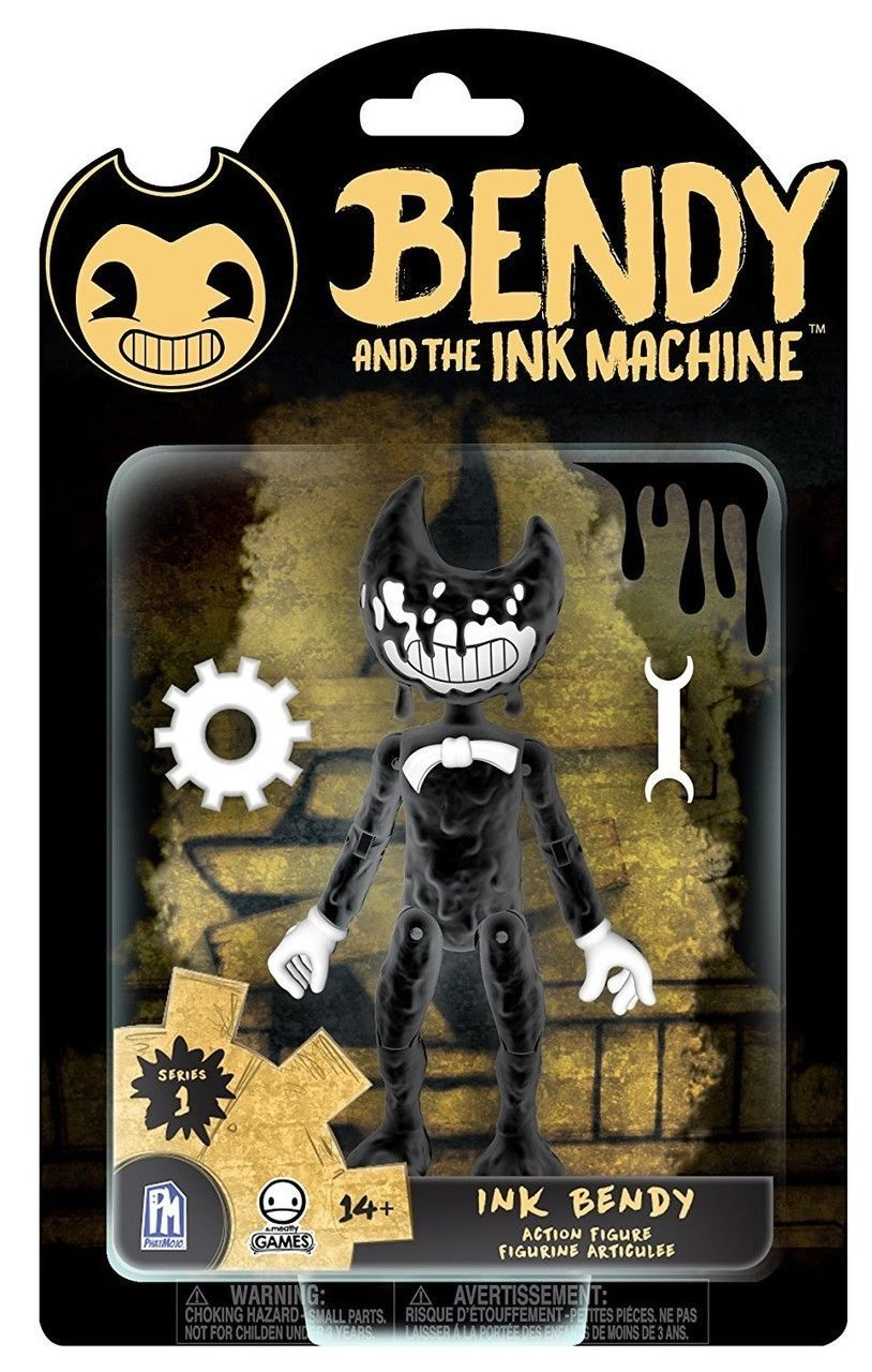 Bendy and the Ink Machine Ink Bendy Action Figure Inked Up