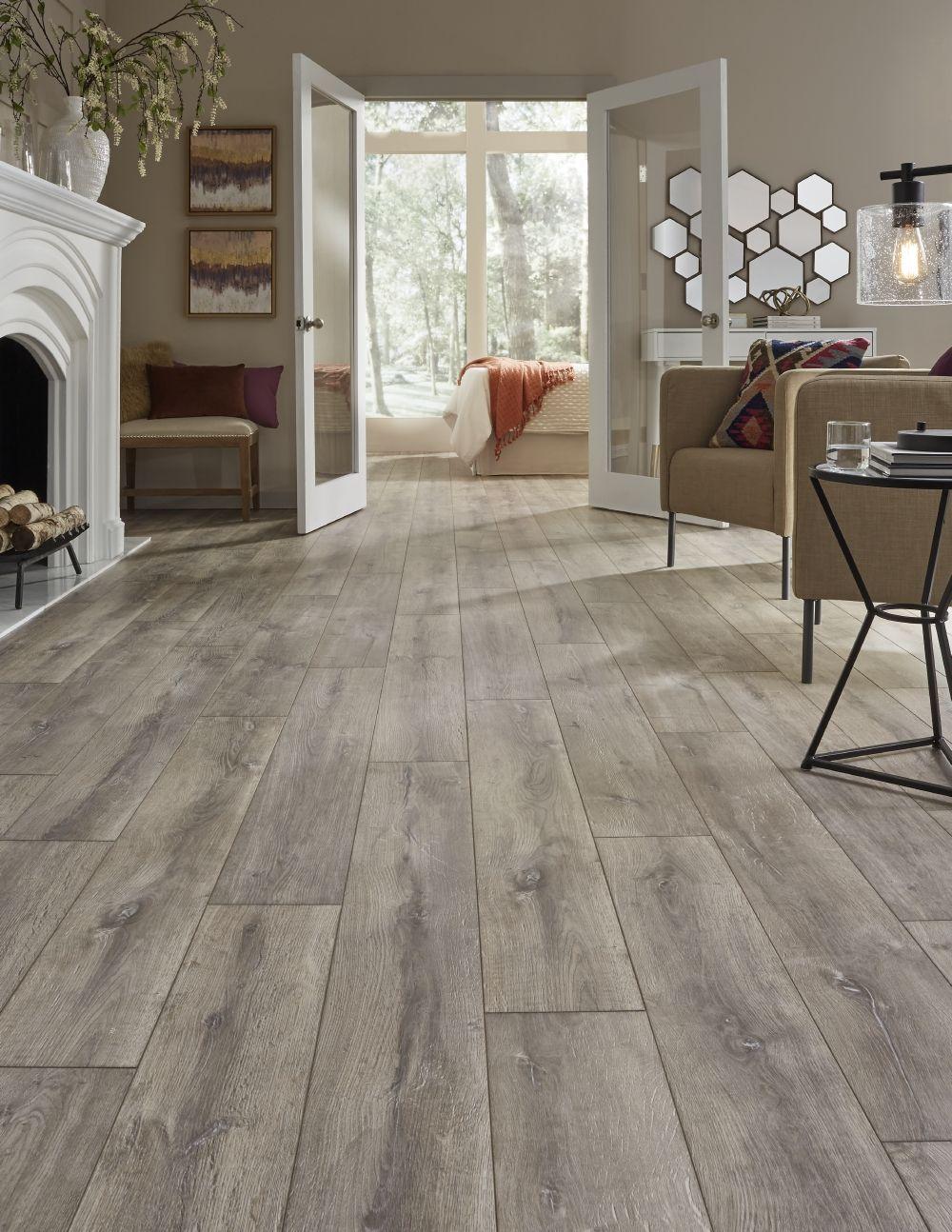 A european white oak look that evokes images of gently for European laminate flooring