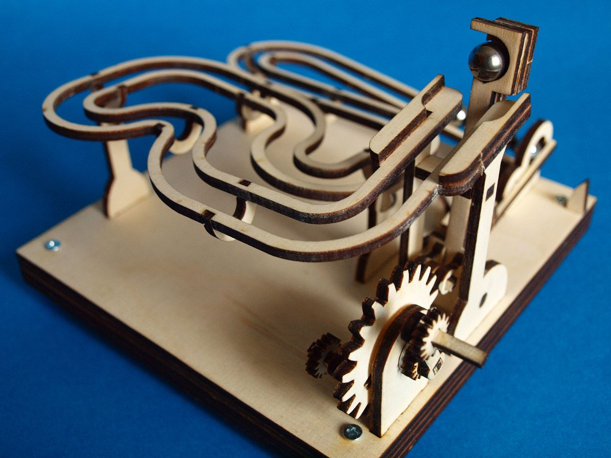Build Your Own Marble Machine Kit
