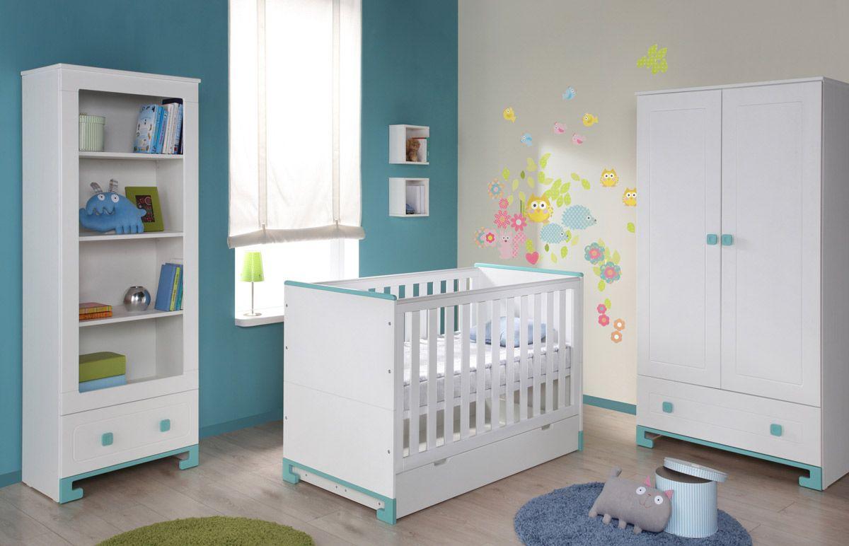 Babyzimmer Gestalten Für Jungen Nature Kid Toto Babybett Juniorbett In Der  Größe 140cm X 70cm Weiß