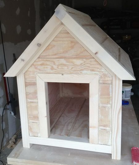How To Build A Dog House Step By Step Cool Dog Houses Build A