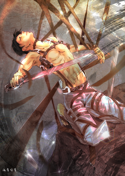 Imm Anime Attack On Titan Levi Anime Guys Hot Anime Guys