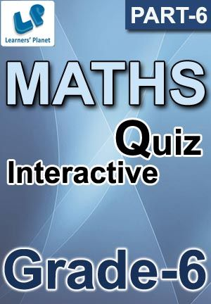 6-CBSE-MATHS-PART-6 Interactive quizzes & worksheets on Introduction ...