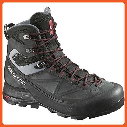 Salomon X Alp Mtn Gtx Boot Men S Black Asphalt Flea 9 5 Boots For Women Amazon Partner Link Hiking Shoes Women Backpacking Boots Mountaineering Boots