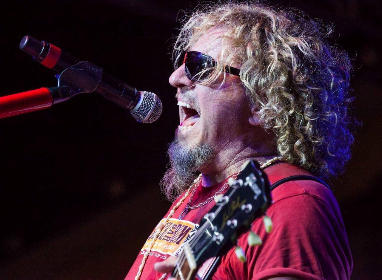 Sing It Sammy Red Rocker Sammy Hagar Van Halen