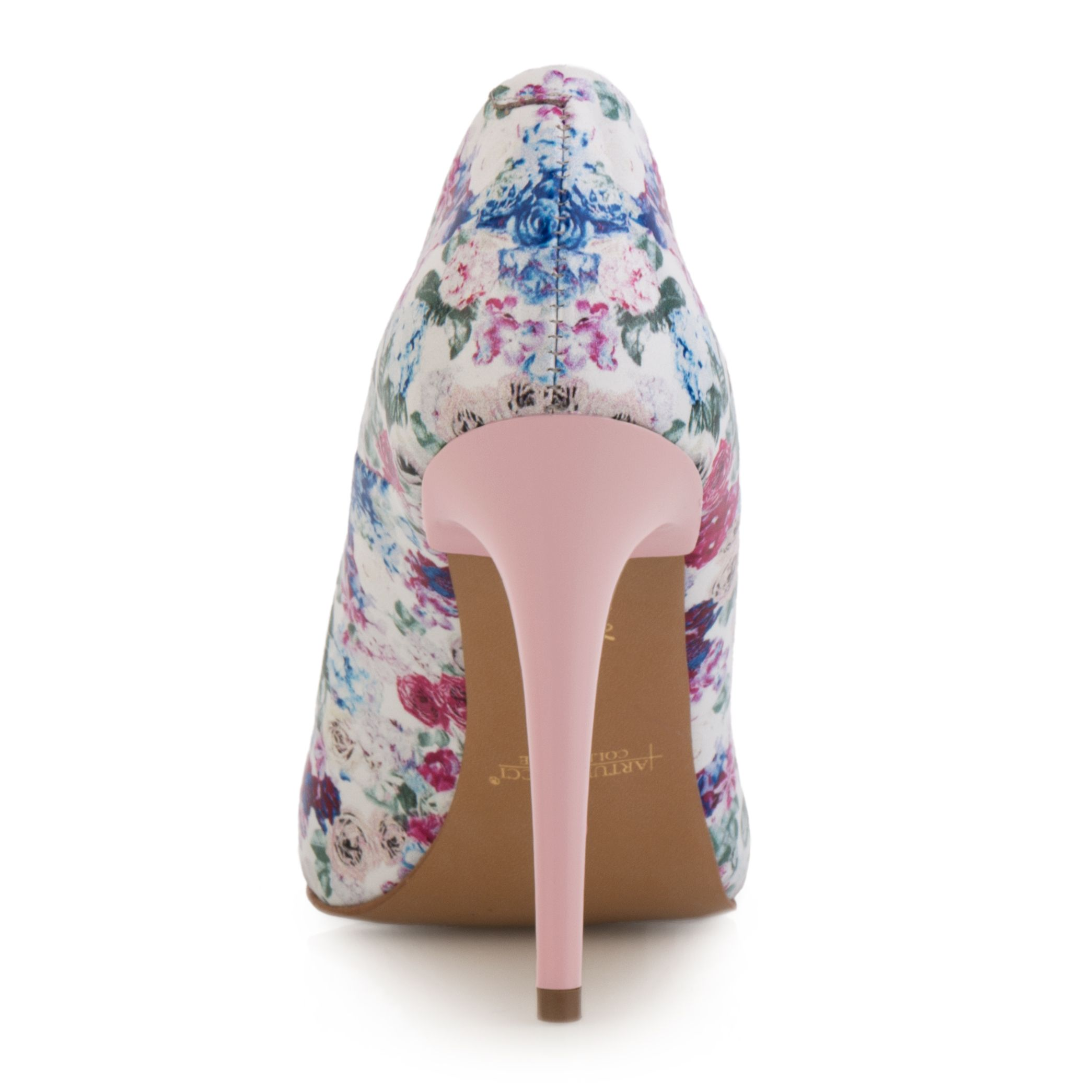 Szpilki Biale W Kolorowe Kwiaty Arturovicci Pl Heels Wedding Shoe Christian Louboutin Pumps
