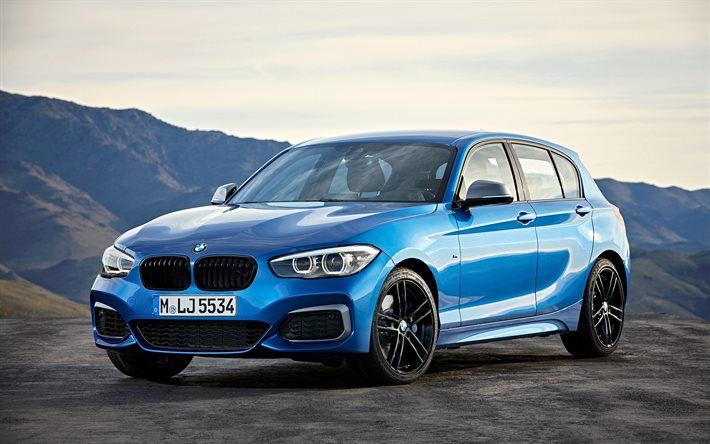 Bmw M140i 2018 German Cars Blue M1 Hatchback