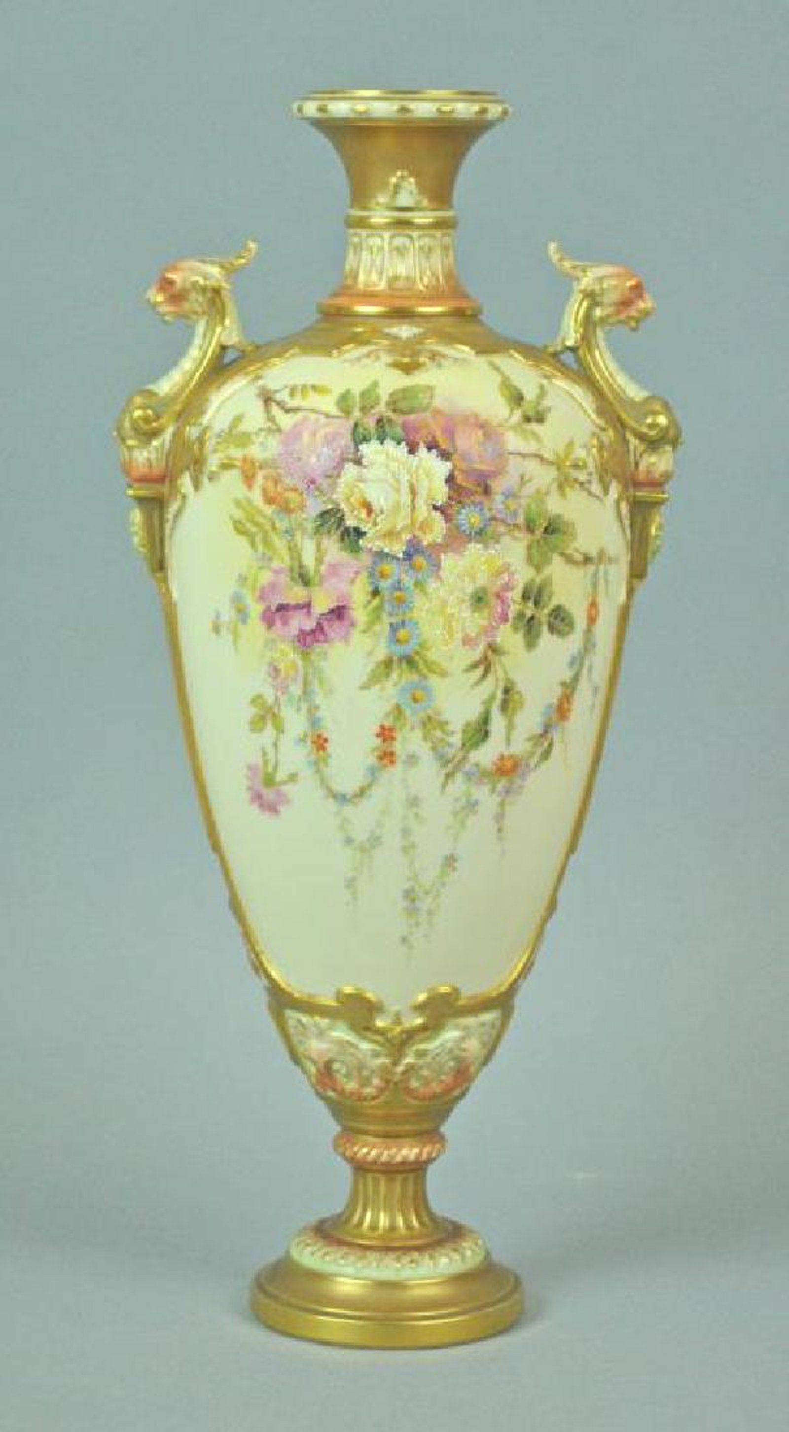 Royal Worcester Blush Ivory Urn Form
