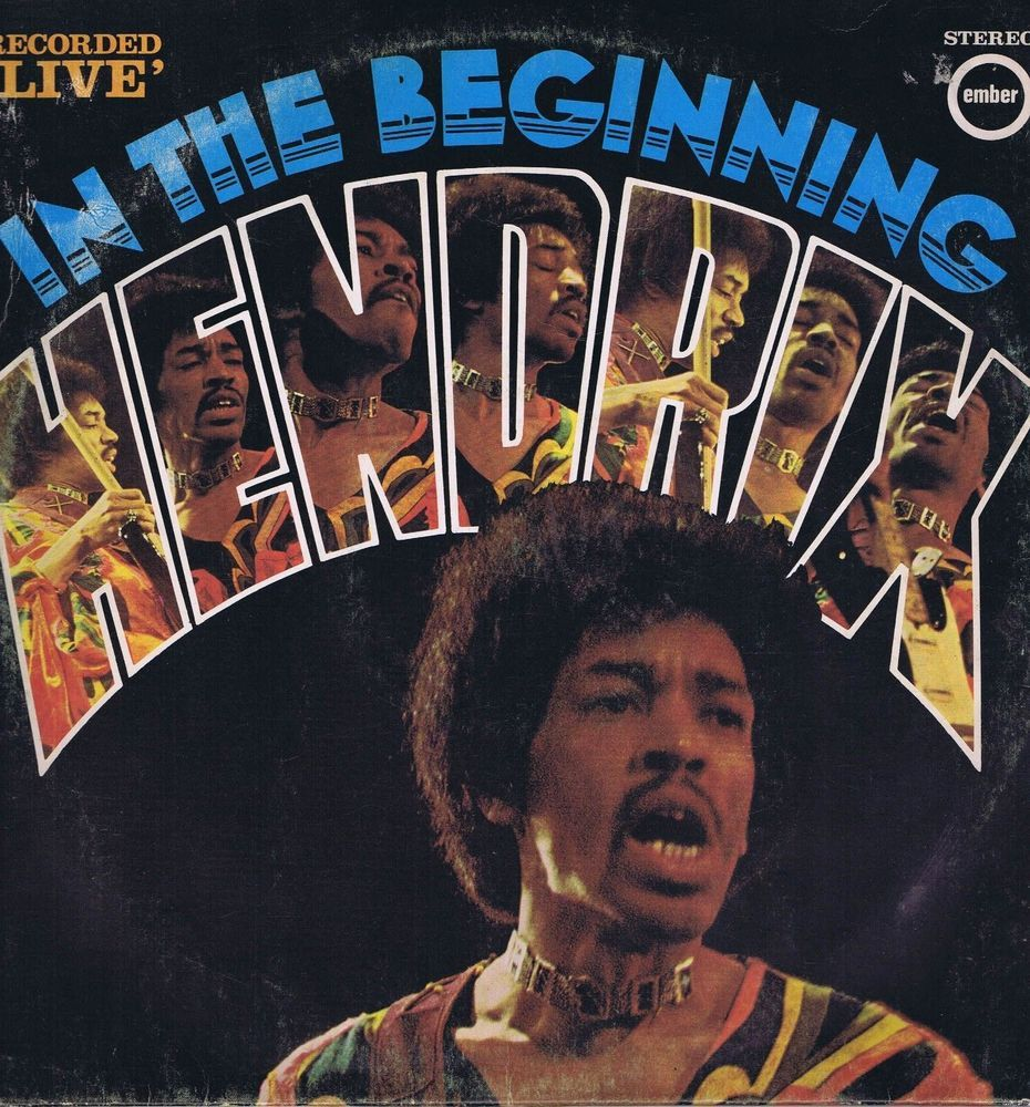 jimi hendrix in the beginning lp vinyl record jimi hendrix vinyl records ebay. Black Bedroom Furniture Sets. Home Design Ideas