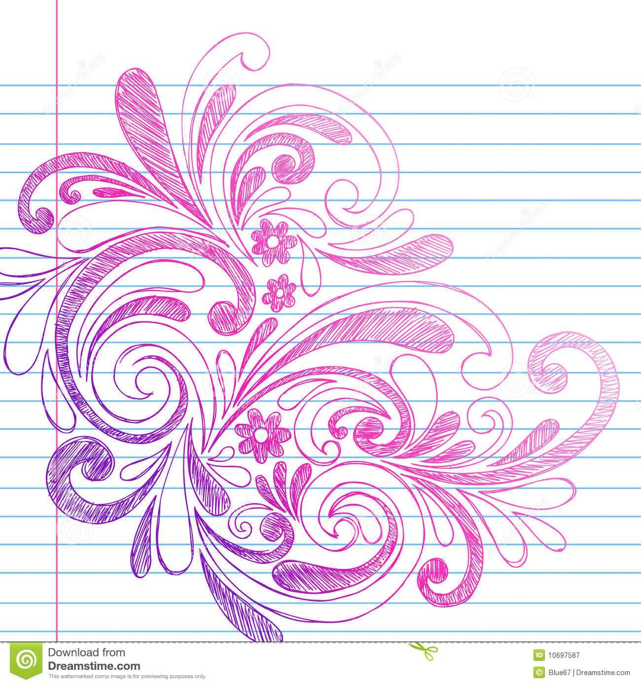 Background Cute Notebook