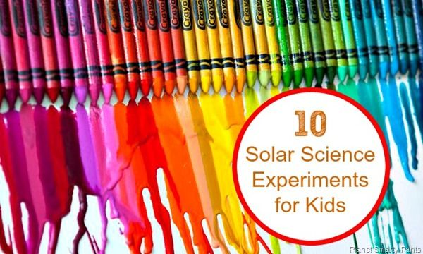 Teach you children about solar, the energy of the future. #solarpower #brightfuture #educate http://www.planetsmarty.com/2015/06/10-fun-solar-experiments-for-kids.html