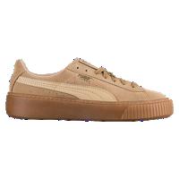 b64e96a8ba PUMA Suede Platform - Women's - Tan / Brown | Shoes in 2019 | Puma ...
