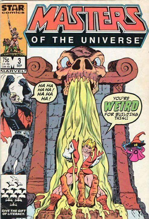 Vintage MOTU He-Man #1 MINI COMIC BOOK Masters of the Universe YOUR CHOICE