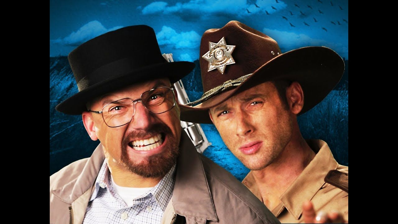 Rick Grimes Vs Walter White Epic Rap Battles Of History Epic