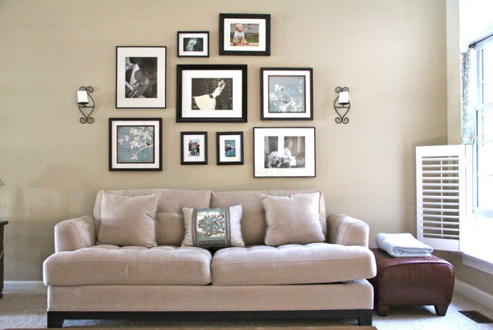 6 Ideas novedosas para colgar los cuadros en tu hogar   Cuadros ...