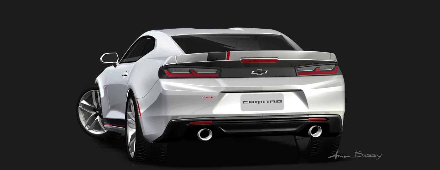 2016 chevy camaro gets 4 custom concepts for 2015 sema show