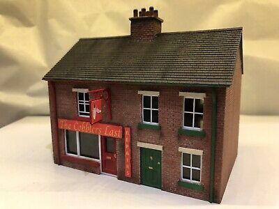 OO Gauge Scratch Built Brick Semi Detached Cobblers Shop & House,Suits Skaledale   eBay