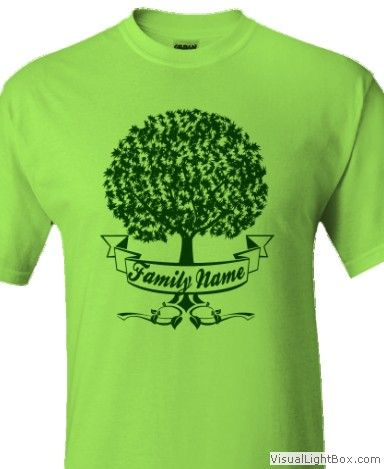 RIBBON_TREEclick HERE to Customize with your own TEXTand Change T-SHIRT and DESIGN Colors