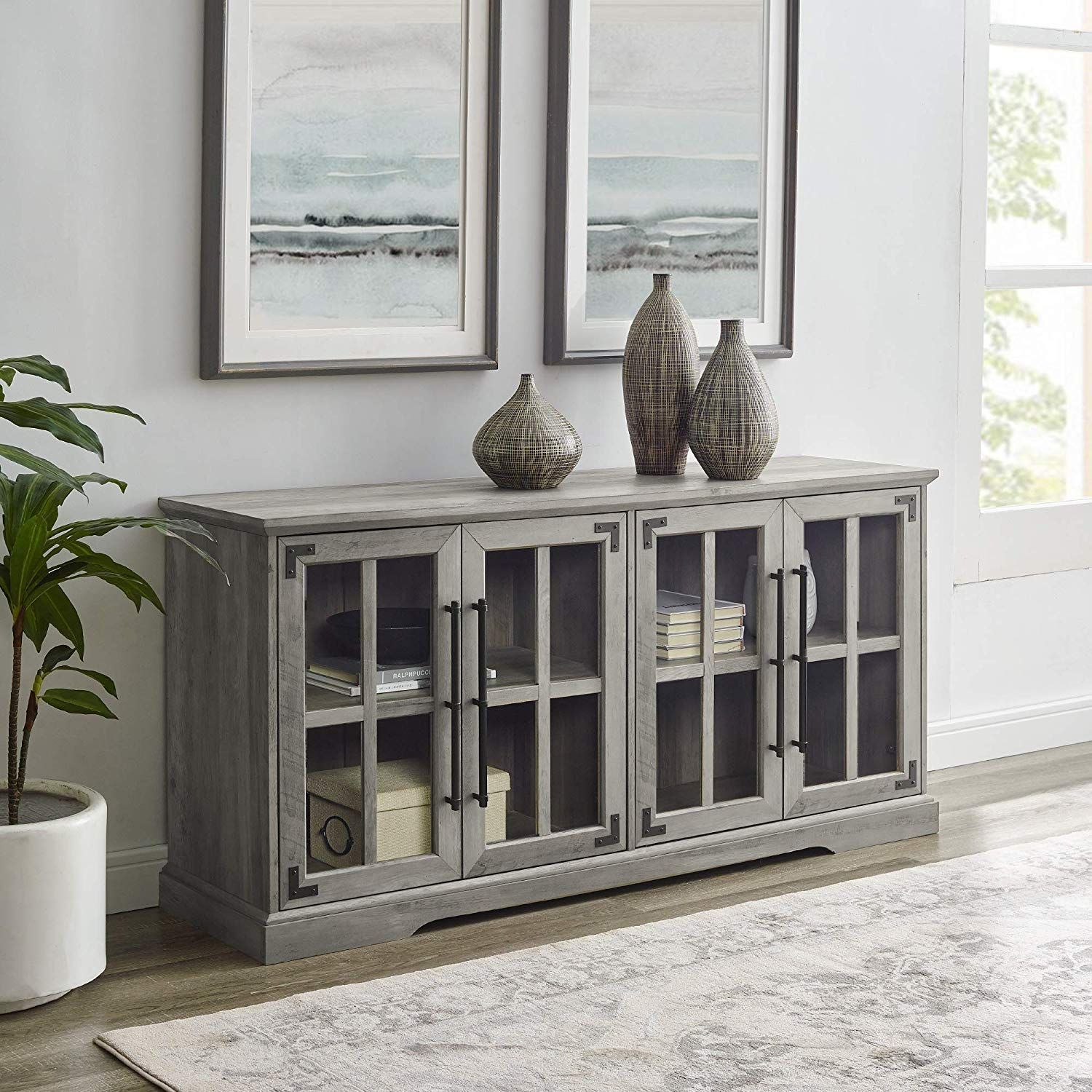 Best Rustic TV Stands and Farmhouse Entertainment Centers