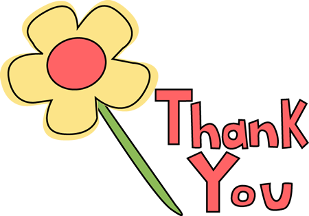 Thank You Flower Image Thank You Flower Clip Art Thank You Flowers Recreation Therapy Clip Art