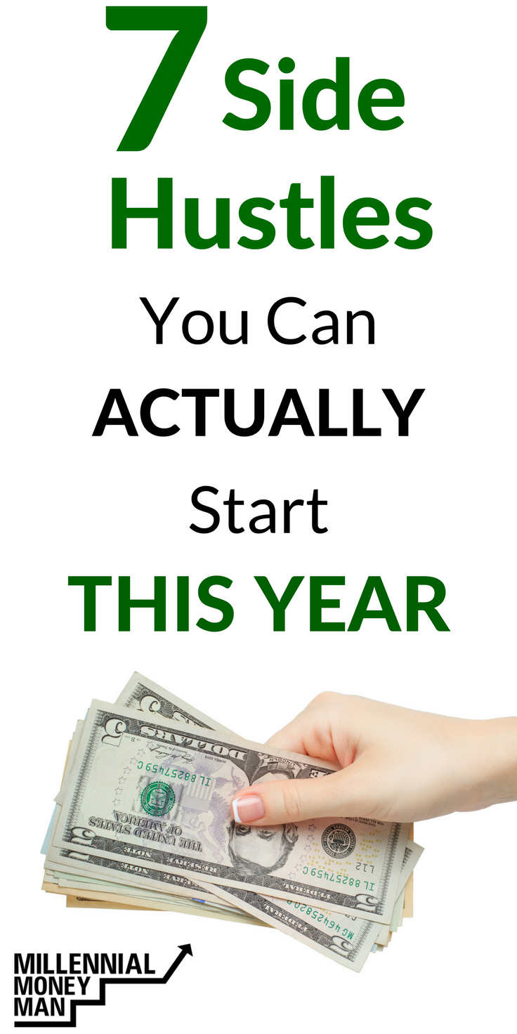 7 Side Hustles You Can Actually Start in 2018 | Extra money, Hustle ...