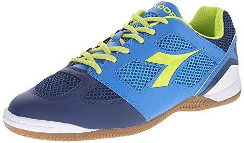 1e12185f2a Diadora Men's Quinto 5 ID Indoor Soccer Shoe, Navy/Royal, 8.5 M US ...