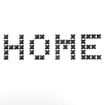 DIY with cardboard? Cross Stitch Wall Decor Black, $20, now featured on Fab. Posso escrever outra coisa!