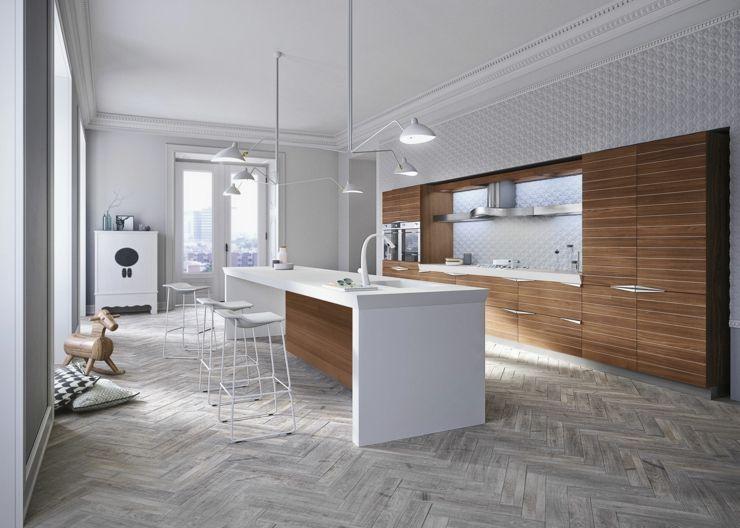 Diseño italiano, Snaidero la inigualable cocina Time ...