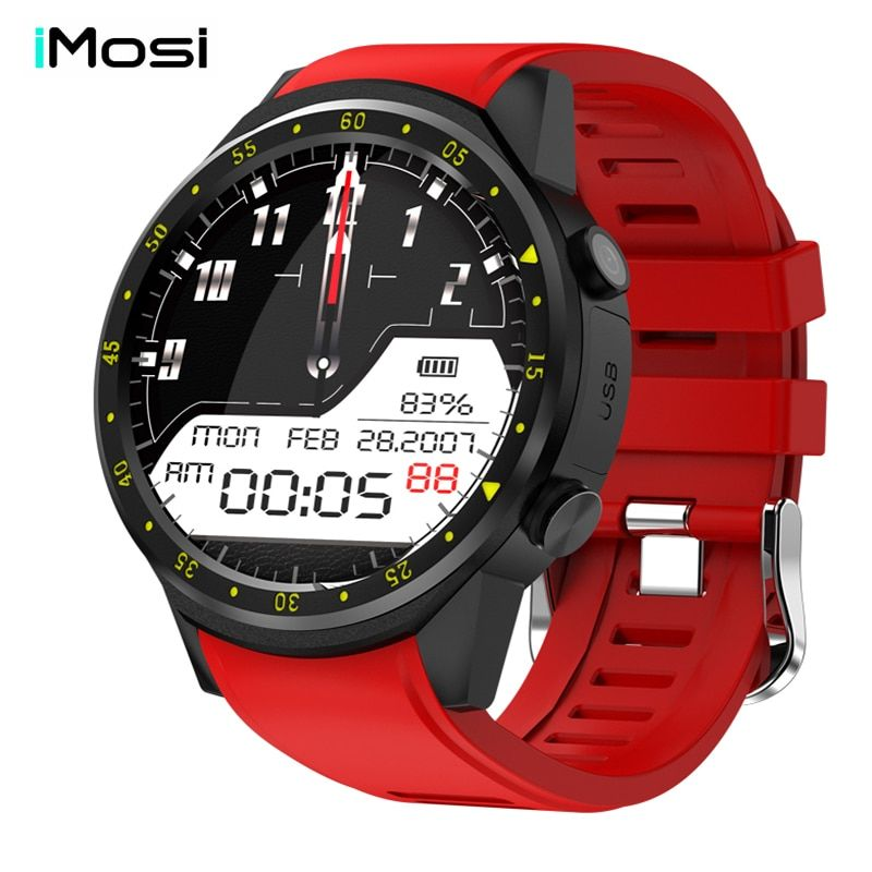 Imosi F1 Sport Smart Watch with GPS Camera Support