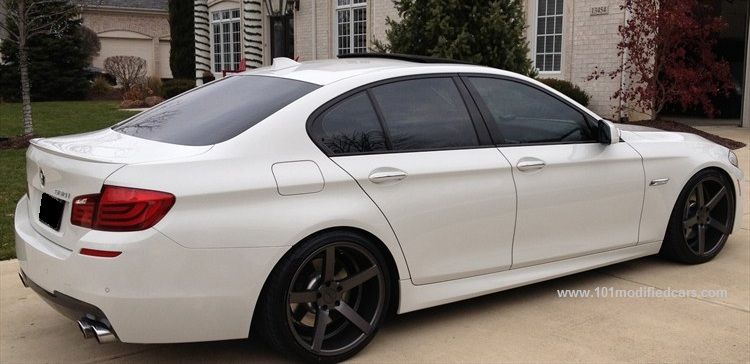 101 Modified Cars Modified Bmw 5 Series F10 Sedan 6th