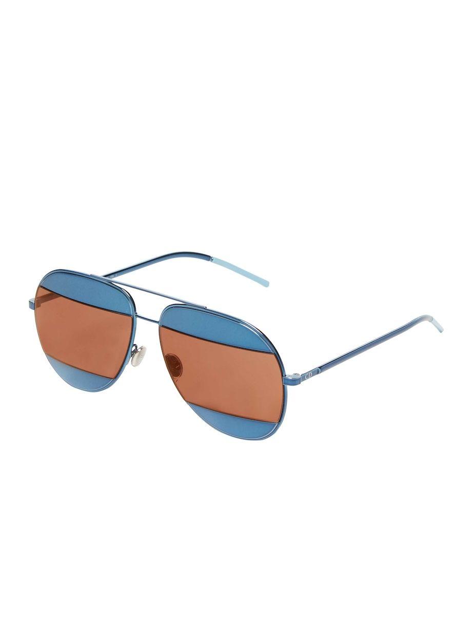 297099a7ec81 Dior 59MM Split Aviator Sunglasses