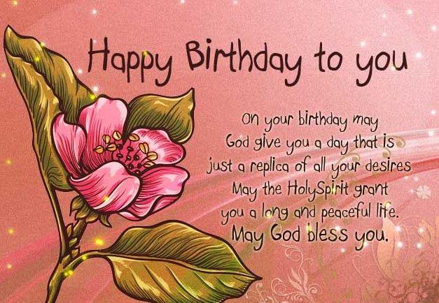 Happy Birthday Message And Prayer ~ Christian birthday images happy birthday cards pinterest