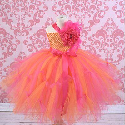 Pinkes tutu kleid