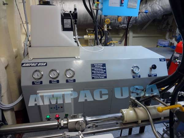 The Ampac Usa Seapro Model Rowpu Sw4500 Seawater Desalination Fresh Watermaker System Is A Super Duty Horizontal Reverse Osmosis Process Water Water Purification