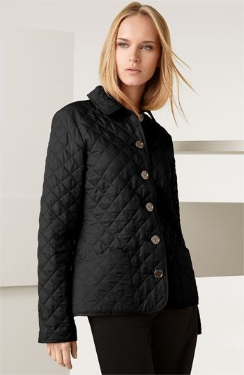 Burberry Brit Diamond Quilted Jacket | Nordstrom - StyleSays | Own ... : nordstrom burberry quilted jacket - Adamdwight.com