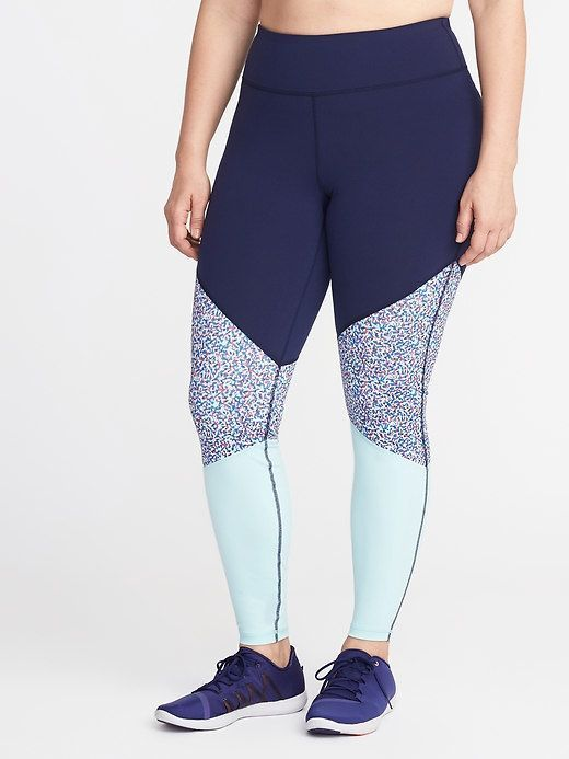 3cb1a63150c454 Old Navy High-Rise Go-Dry Plus-Size Compression Leggings   Products ...