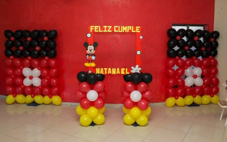 Pin by liliana ramos de guzm n on fiesta tem tica mickey - Fiesta tematica mickey mouse ...
