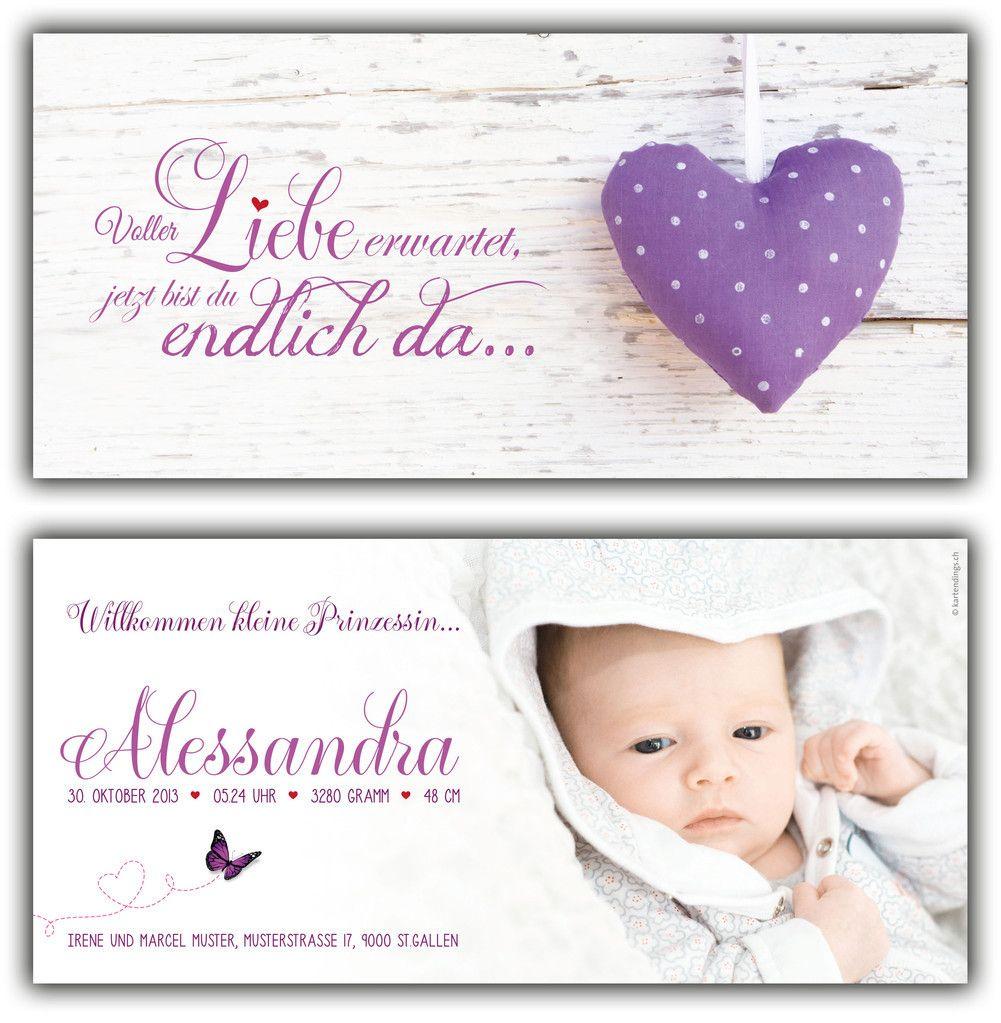 geburtskarte spruch baby fotoalbum geburt baby und geburtskarten. Black Bedroom Furniture Sets. Home Design Ideas
