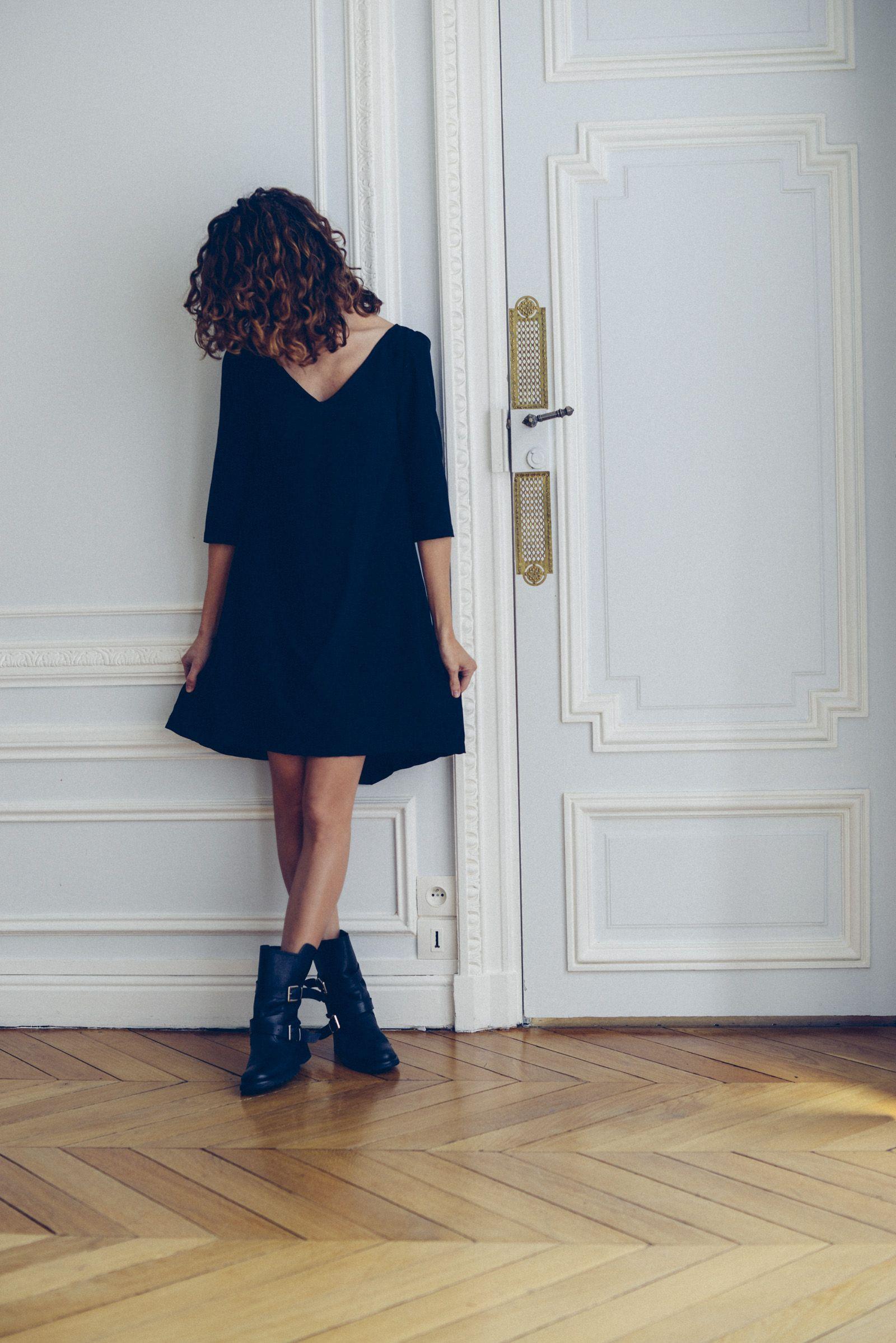 Exceptionnel Patron de couture PDF Vanessa Pouzet, ultra facile et rapide. Robe  UG02