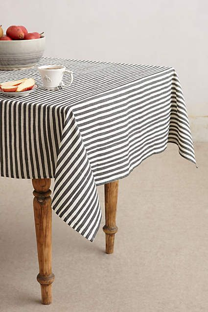 Awning Stripe Tablecloth Striped Tablecloths Table Cloth Dining Linens