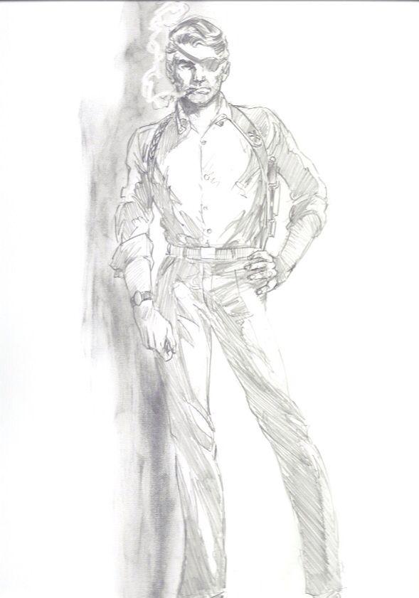 Nick Fury circa 1970's by John Byrne - Marvel Comics