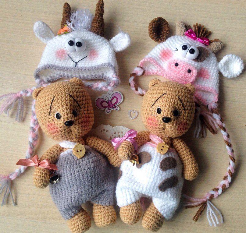 Екатеринбург.Вязаные игрушки-АМИГУРУМИ. СХЕМЫ. | Crochet Inspiration ...