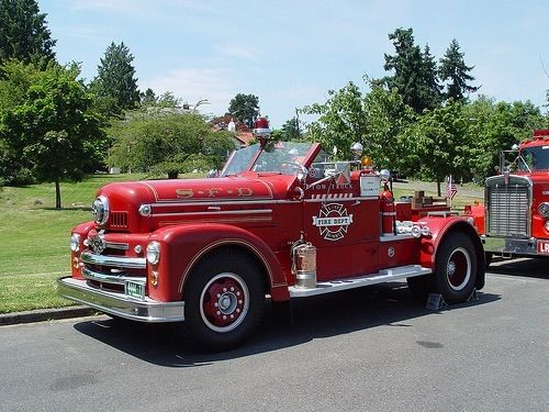 1954 Seagrave Quot 70th Anniversary Series Quot Aerial Tractor And