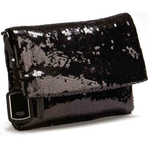 Ugg Australia Accessory S Sparkle Clutch Nyc Black Clutches Special Occasion Bags 18705 Rsd